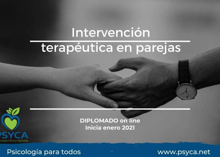 Diplomado: Intervención terapéutica en parejas